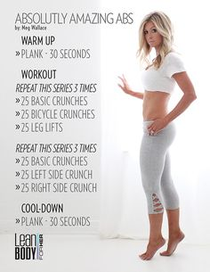At Home Workout Plan, At Home Workouts, Workout Plans, Ab Workouts, Workout Ideas, Workout For Moms, Elliptical Workouts, Walking Workouts, Ab Exercises