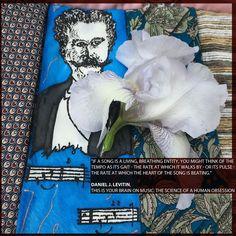 "iPad Cover ""Creierul nostru muzical*, Daniel J. Levitin #handbag #handmade #custommade #premium #exclusive"