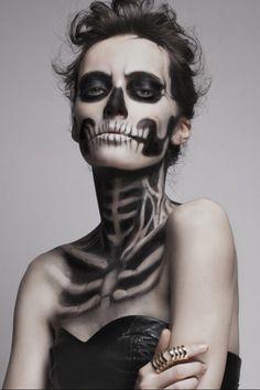 Макияж на Хэллоуин с MUFE. Инструкция | Beauty Insider