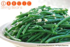 It's time for Friday Night Bites and tonight we're going green. Munch and crunch on this delicious and healthy side this weekend. These Garlic String Beans are an easy dish to make ahead whether you're feeding your family or a crowd. This easy recipe delivers a flavorful crunchy complement to any main dish ranging from lobster to steak to chicken, plus it's perfect for packing in your picnic basket. Print Garlic String Beans Author:Elizabeth Mascali…