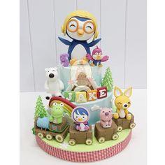 #pororo #cake
