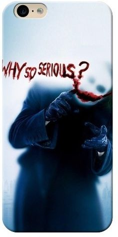 #Batman #joker #WhySoSerious #card #WarnerBros #BackCover for Apple iPhone6 4.7 Inch #LightWeight #High #Quality  #Stylish #Protective #MobileCover #MobileCase #Amazing #Creative #MobileCaseDesign  #LoveIt #WantThis   #Apple #iPhone6 #Shop #online #Buy #india