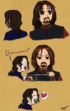 Kumama and Boromir.