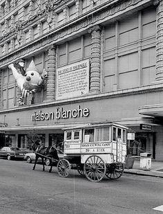 The Roman Candyman, Mr. Bingle and Maison Blanche.  A threefer!