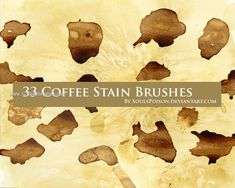Coffee Stain - Download  Photoshop brush https://www.123freebrushes.com/coffee-stain/ , Published in #GrungeSplatter. More Free Grunge & Splatter Brushes, http://www.123freebrushes.com/free-brushes/grunge-splatter/ | #123freebrushes