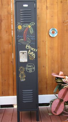 Locker- Chalkboard Magnetic Locker