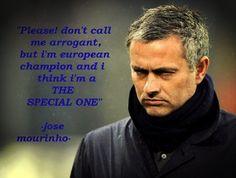 Mourinho, The special one