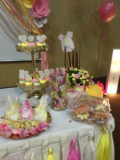 Baby shower Flores niña