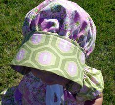 Easy Sewing Pattern Girls dress Pillowcase dress Beginner PDF Sewing Patterns : Free Sewing Pattern Bonnet Tutorial