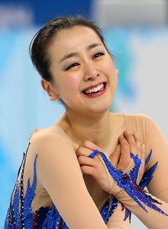 Mao Asada in her triumphant final skate in the Olympics 2014 my favorite from the ladies free skate