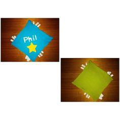 Knuffeldoekje voor kleine Phil