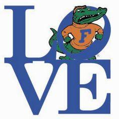 Love University of Florida Gators