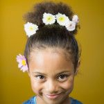 5 Easy Easter Hairstyles for Kids with Curls, Coils,