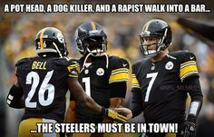 Steelers have a bunch of criminals on their team