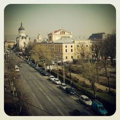Cluj. office view Romania, Paris Skyline, Wanderlust, Travel, Viajes, Trips, Traveling, Tourism, Vacations