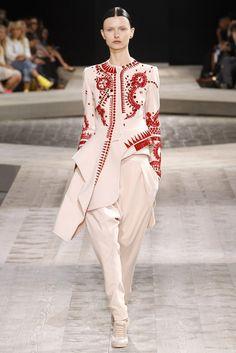 Givenchy Fall 2009 Couture Fashion Show - Kamila Filipcikova
