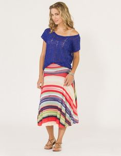 Weston Wear Jillian Multi Skirt Now 25% off use promo code BOTTOMSUP at www.TwoSmitten.com