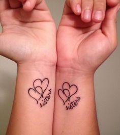 Sisters Best Friends Tattoo