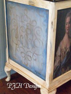 PJH Designs One of A Kind Vintage & Antique Furniture & Home Decor: Old World Blanket Chest