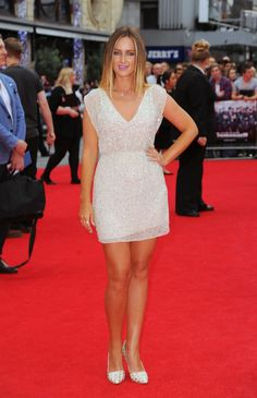 Pin for Later: All the Made in Chelsea Girls' Finest Fashion Moments  Francesca Newman-Young pulled out all the stops in a sparkling miniskirt for the London premiere of The Expendables 3 in August 2014.