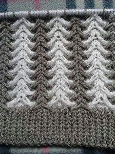 Learn how to knit crochet this border. In this Border crochet tutorial series I will be showing how to crochet fan stitch. This crochet tutorial was f Knitting Stiches, Knitting Videos, Baby Knitting Patterns, Lace Knitting, Crochet Stitches, Stitch Patterns, Crochet Patterns, Sewing Stitches, Knitting Needles