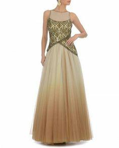 Ombre gown.. Devine