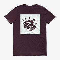 Men Base Logo T Shirt Maroon