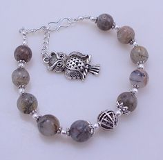 23 gram stunning BLACK RUTILE  stone yoga/meditation/chakra bracelet free shipping by OCEANJEWELLERS on Etsy