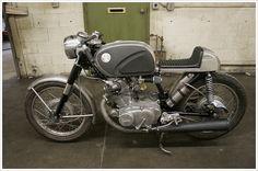 1966 Honda CB77 – Super Hawk 'Café'