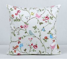 This is for one 16 inch x 16 inch Bird Trail Grey double sided cushion cover. This cushion cover comes in a Bird Trail Grey fabric on both sides of the cushion cover. With an invisible zip which is at the bottom of the cushion cover, This give a stylis. Shabby Chic Throw Pillows, Old Pillows, Cushion Pads, Cushion Covers, Throw Pillow Covers, Clarke And Clarke Fabric, Bee Design, Design Shop, Handmade Cushions
