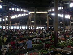 Market in Lautoka, Fiji.  Where we bought our fresh fruit, vegie and yagona every week.