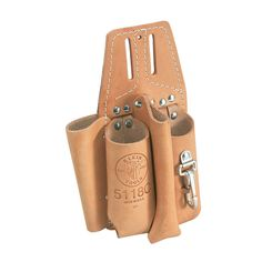 Klein Tools Pliers, Folding Ruler, Screwdriver and Wrench Holder 5118C