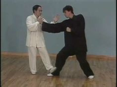 Taichi Combat (Yang style): Demonstration of application of various Yang style movements by Master Liang, Shou-Yu. The attacker is a young Ramel Rones of the Sunrise and Sunset Tai Chi videos.
