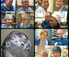 surgical cap, free pattern
