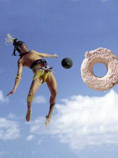 jueg de pelota maya   El Juego de Pelota Maya