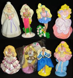 Barbie Happy Meal Toys