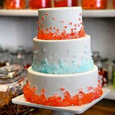 Hard candy cake #love #like #blue #orange # comment
