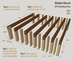 diy outdoor projects We picked these 4 modern outdoor bench plans for your next DIY project. What unite these designs is their minimalism. The benches are also similar Read Woodworking Projects Diy, Woodworking Bench, Diy Wood Projects, Outdoor Projects, Woodworking Techniques, Green Woodworking, Woodworking Equipment, Woodworking Classes, Garden Projects