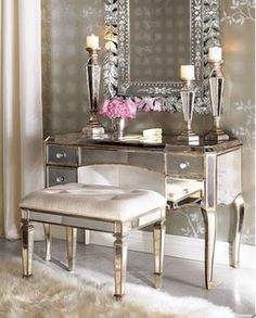 French Charmed: Vanity Fair   Paris Guest Room   love, love, love the mirror
