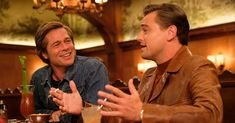 Leonardo DiCaprio and Brad Pitt star in Tarantino's love letter to Hollywood, which features Margot Robbie as Sharon Tate and takes place in the lead-up to the Charles Manson family murders. Leonardo Dicaprio, Brad Pitt, Charles Manson, Sharon Tate, Steve Carell, Steve Buscemi, Once Upon A Time, Jin Won, Nine Movie