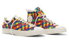 """O novo tênis da Converse, o All Star Chuck Taylor da coleção """"Color Weave""""."""