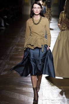 Dries Van Noten Fall 2015 Ready-to-Wear Fashion Show Collection