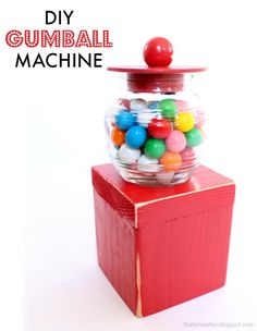 "That's My Letter: ""G"" is for Gumball Machine"