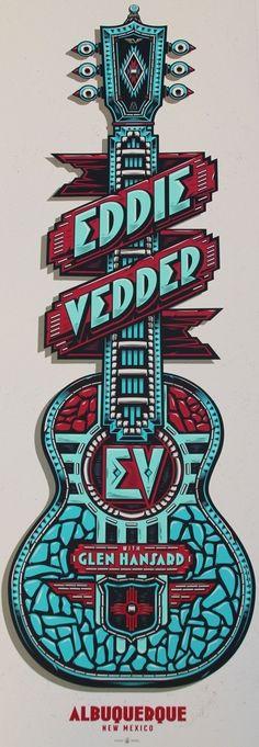 Eddie Vedder Concert Poster                                                                                                                                                      More