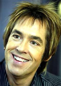 Per Gessle (1959-), Swedish singer and songwriter, one half of the pop band Roxette
