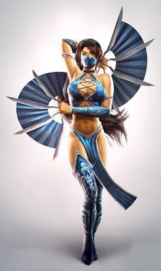 Kitana MK 2011... me agrada su apariencia, aunque siempre criticaré la diminutez de su vestuario. Así no hay Cosplay que resista!