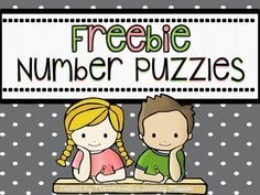 Number Puzzle Freebie I created this document to celebrate my 200 follower on TpT!! Each puzzle has the number in a tens frame, tally marks, the numeral, and in written form. There are 16 different number puzzles. This would be great for students to work on during a math center. ++++++++++++++++++++++++++++++++++++++++++++++++ Also check out these other great resources: Place Value Centers, Exit Tickets, Assessments 1.NBT.2 Let's Plan a Birthday Party Project Based Learning Activity SCOOT…