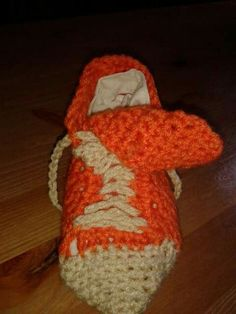 Crochet trainers