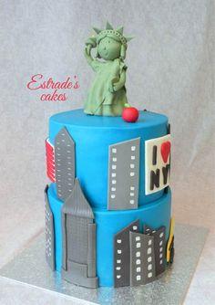Estrade's cakes: tarta de Nueva York con fondant