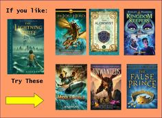 If You Like Percy Jackson, try these books. <--- OMG KINGDOM KEEPERS!!! Our fandom is ARISING!!!! But seriously, all you PJO fans like me, read the Kingdom Keepers. It's what got me into reading and finding out about Percy. You'll all love it. :)